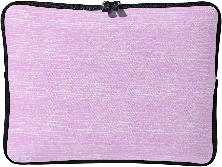 Pastel Pink Bubble Gum Crackle Laptop Sleeve Water Repellent Neoprene Bag Protective Case Cover Compatible with MacBook Pro//Asus//Dell//Hp//Sony//Acer 15 Inch