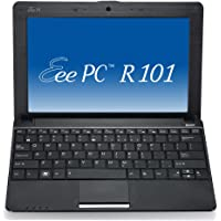 Asus EeePC R101PX 25,7 cm (10,1 Zoll) Netbook (Intel Atom N450, 1.6GHz, 1GB RAM, 250GB HDD, Intel GMA 3150, Win7 Starter) schwarz