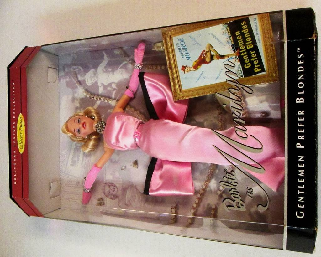 Amazon Barbie Doll As Marilyn Monroe In The Pink Dress From