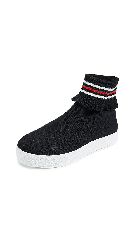 Opening Ceremony Women's Bobby Sneakers B07BWDLTH8 38 EU (8 B(M) US Women)|Black Multi