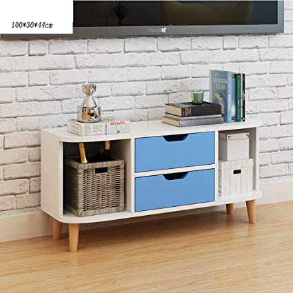 Amazon.com: HALODN Modern Industrial Design Woodentv Cabinet ...