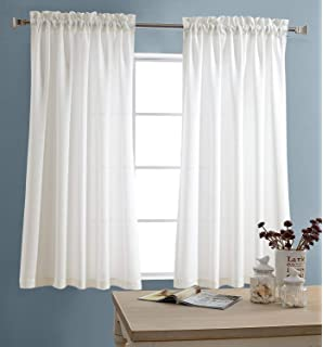 Cool Farmhouse Kitchen Curtains For Kitchen Window Above Sink Photos Decor And Ideas