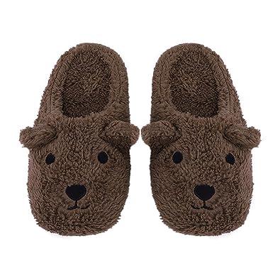2ef9073fd11 Womens Indoor Warm Cotton Slippers
