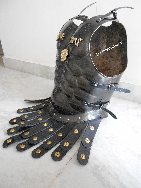Co romano muscular ARMOR Coraza negro muscular ARMOR delantal disfraz de cintur/ón acabado antiguo Thor instrumentos