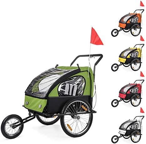 SAMAX Remolque de Bicicleta para Niños Kit de Footing Transportín ...