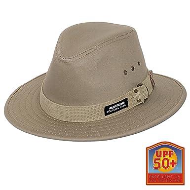 2e05ac5eb02 Panama Jack Original Canvas Safari Hat