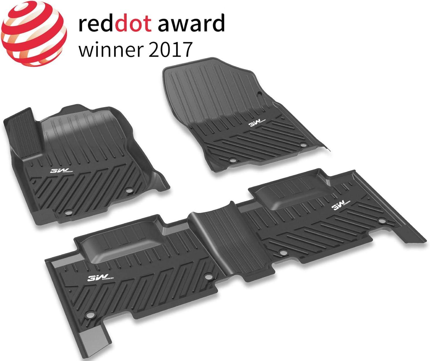 Coverking Custom Fit Front and Rear Floor Mats for Select Nissan Versa Models Nylon Carpet Black CFMBX1NS9419