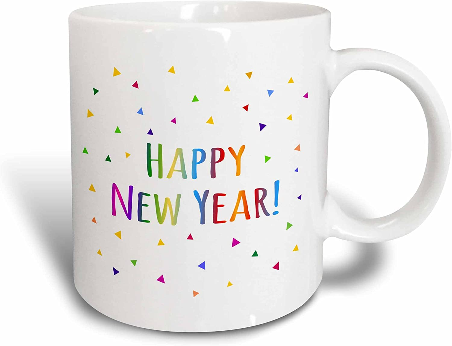 3dRose Shana Tova - Rosh Hashanah Greeting For A Happy Jewish New Year Mug, 11 oz, White