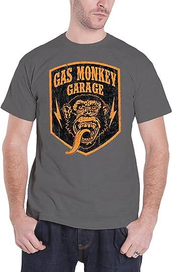 Gas Monkey Garage Shield NEW MENS T-SHIRT