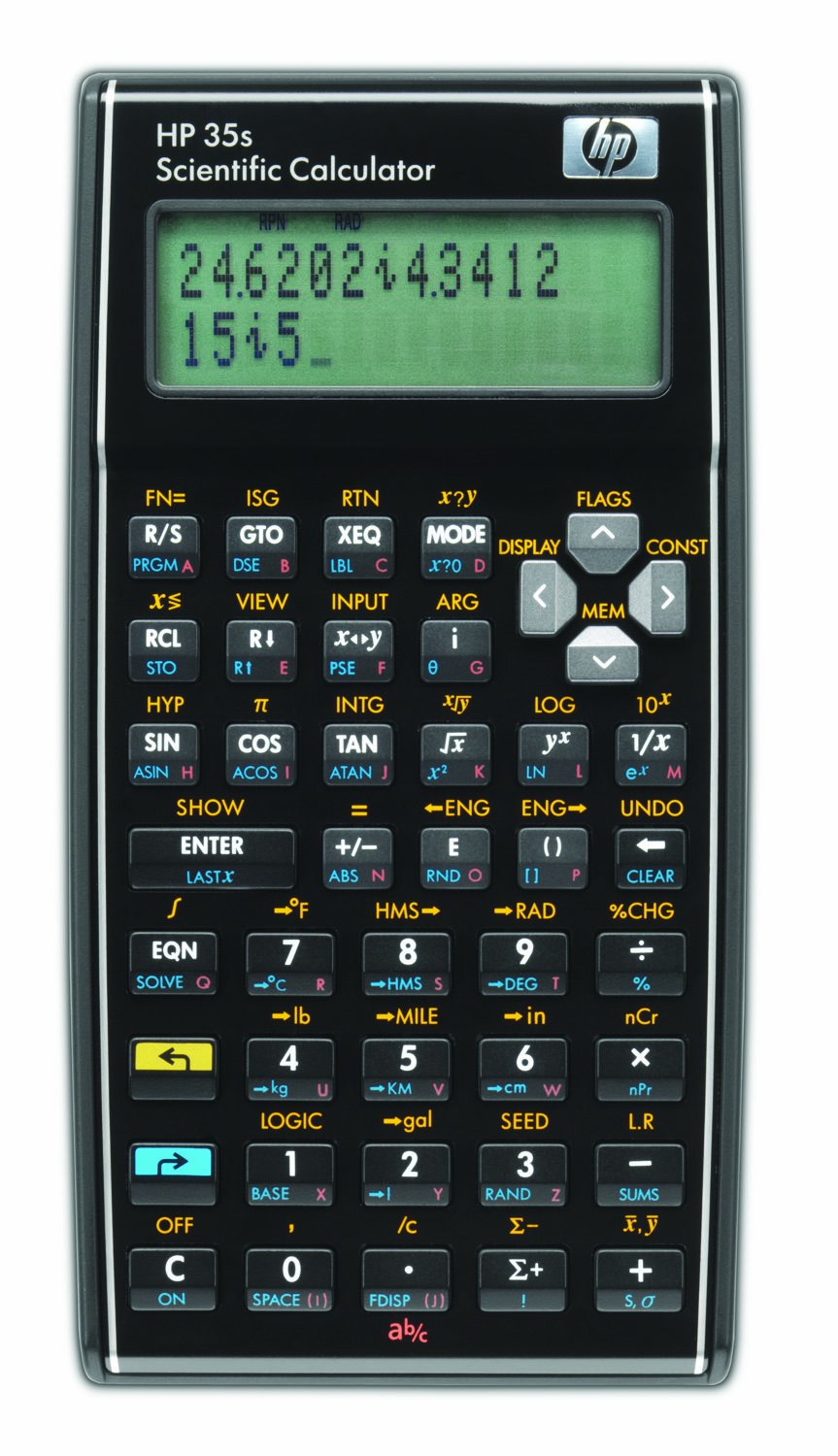 HP 35S 35S Programmable Scientific Calculator, 14-Digit LCD (HP-35S/B12)