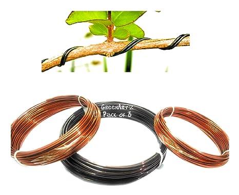 Bonsai formation Wire 1.0 mm 2.5 Mm 70 M 11 m 150 g Chaque Ensemble