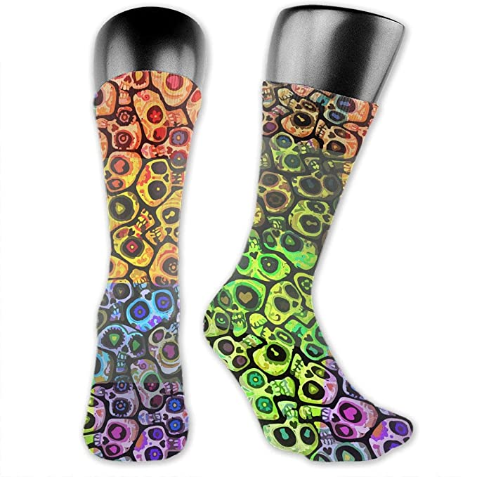 Ladies Cotton FOOTIE ANKLE Socks One Size fits MOST SUGAR SKULL Girls