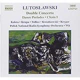 Lutoslawski : Double concerto - Préludes de dance - Chaîne 1