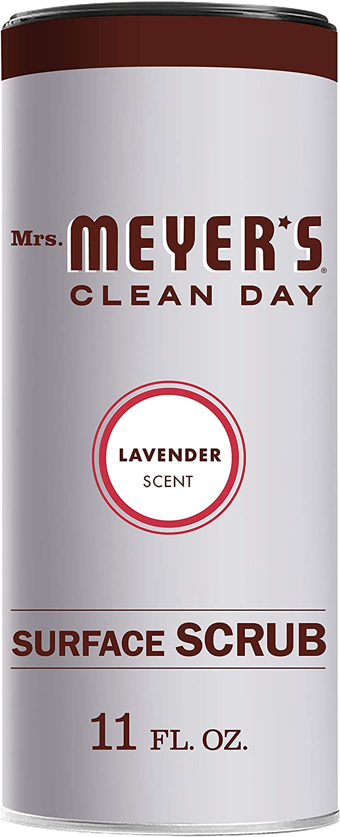 Mrs. Meyer's Surface Scrub Lavender, 11 OZ best natural bathroom cleaning products