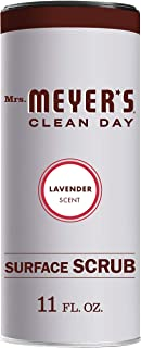 product image for Mrs. Meyer's Clean Day Surface Scrub, Removes grime on Kitchen and Bathroom Surfaces, Non Scratching Powder, Lavender, 11 oz