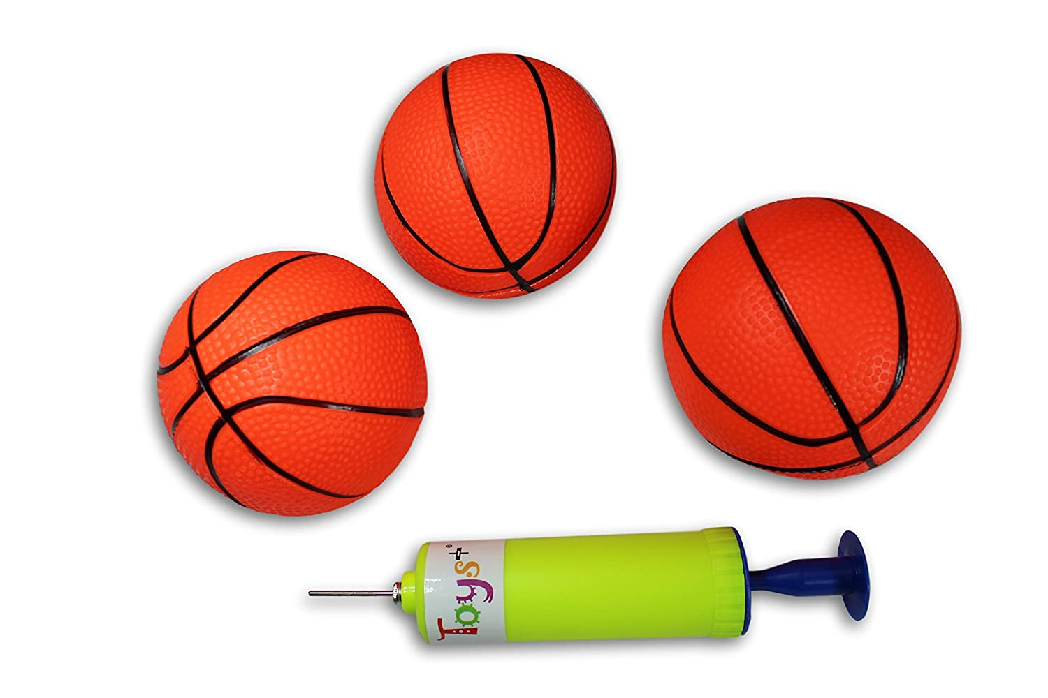 Amazon.com: 3 Pack. hinchable Mini Baloncesto Incluye Bomba ...
