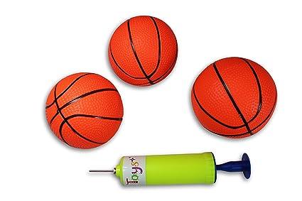 Amazon.com: 3 Pack. hinchable Mini Baloncesto Incluye Bomba ...