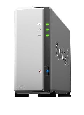Synology 1 Bay Drive NAS DiskStation DS115j