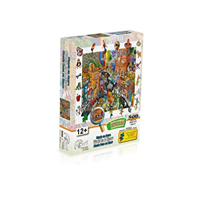 WUUNDENTOY Jigsaw Puzzle World in A Hurry 500 Pieces Premium Edition Puzzle (2703): Toys & Games