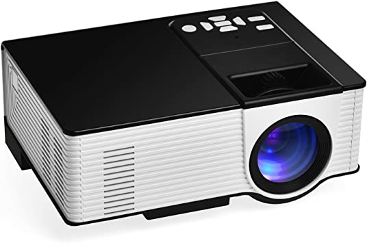 1600 lumens Proyectores, vigorea Mini LED Cine en casa proyector ...
