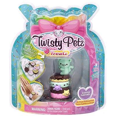 Twisty Petz Treatz - Ice Cream Sandwich Kittens - Series 4: Toys & Games