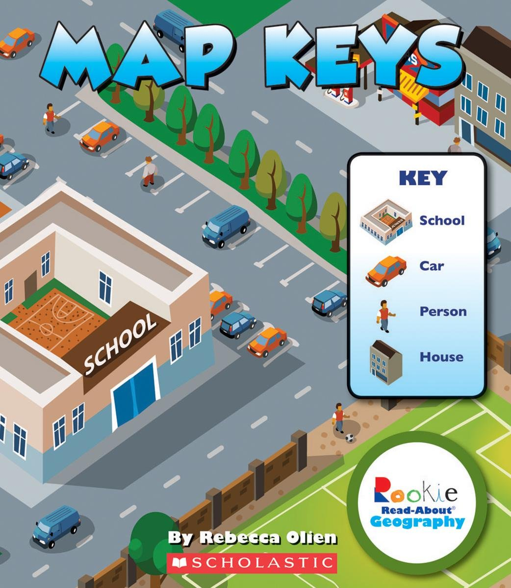 Amazon.com: Map Keys (Rookie Read About Geography (Paperback