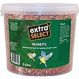 Extra Select Wild Bird Peanuts in Tub - 5 L