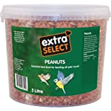 Extra Select Wild Bird Peanuts Tub, 5 L