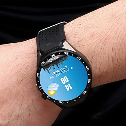 Amazon.com: smart watch,KING-WEAR KW88 SmartWatch Pedometer ...