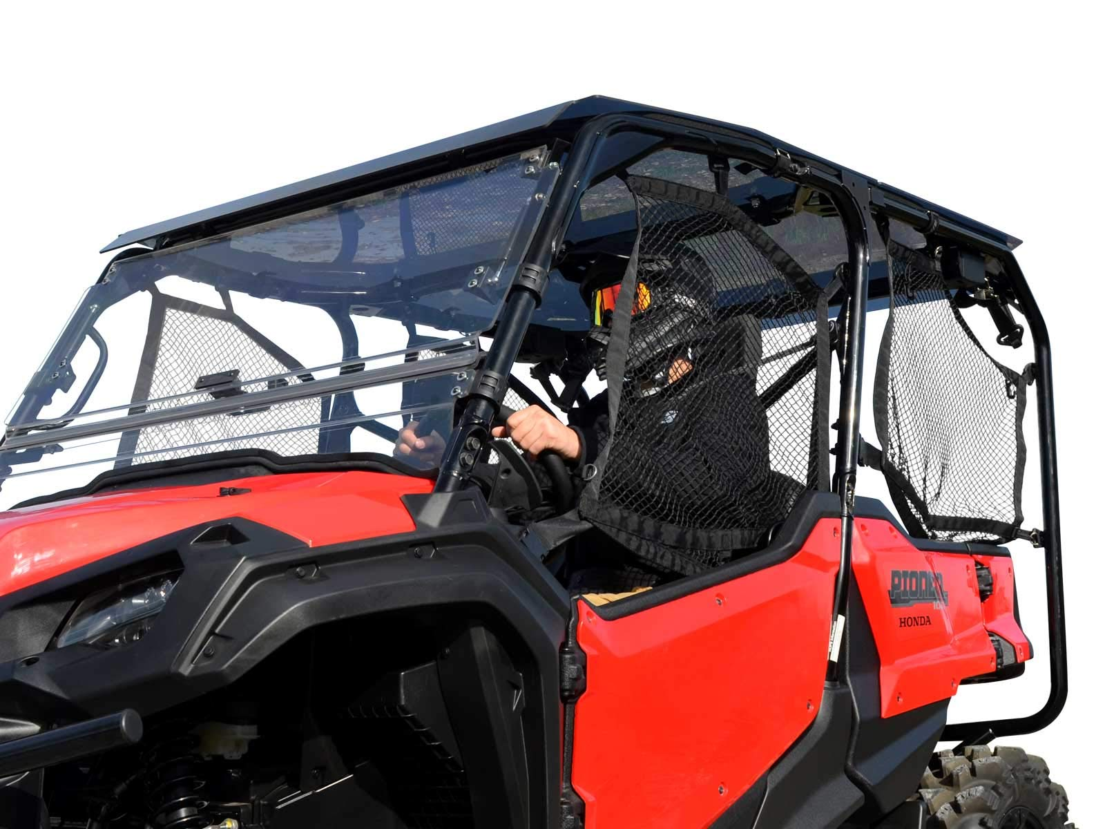 SuperATV Heavy Duty Tinted Roof for Honda Pioneer 1000-5 (2016+) - Easy to Install!