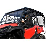 "SuperATV Dark Tinted Roof for 2016+ Honda Pioneer 1000-5 | USA Made! | Blocks UV Rays and Heat From The Sun | 1/4"" Thick Poly"
