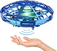 Hand Operated Drones for Kids or Adult - Interactive Infrared Induction Indoor Helicopter Ball with 360° Rotating and Shinni
