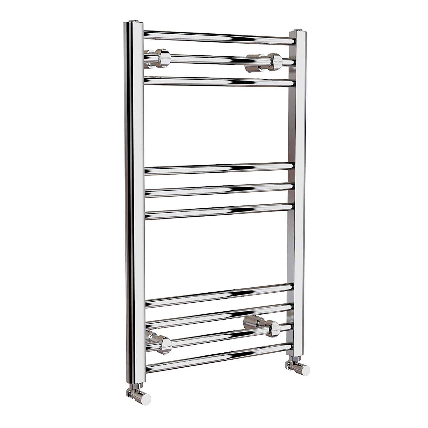 Natasha ladder rail straight modern electric towel radiator in chrome - 800x500mm Chrome Straight Electric Towel Radiator Ladder Modern Bathroom Re151 Ibath Amazon Co Uk Diy Tools