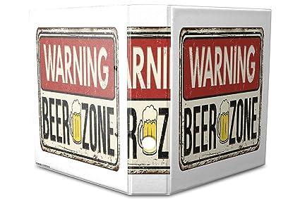 Archivador A4 Carpeta 2 anillas 60mm impreso Zona de cerveza