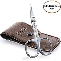 YUMAYA® Profi Nagelschere - Super scharfe Nagelhautschere mit gebogener Schneide - Premium Nagelschere Fussnägel auch für Linkshänder geeignet - Inkl. Etui und Nagelpflege Ebook
