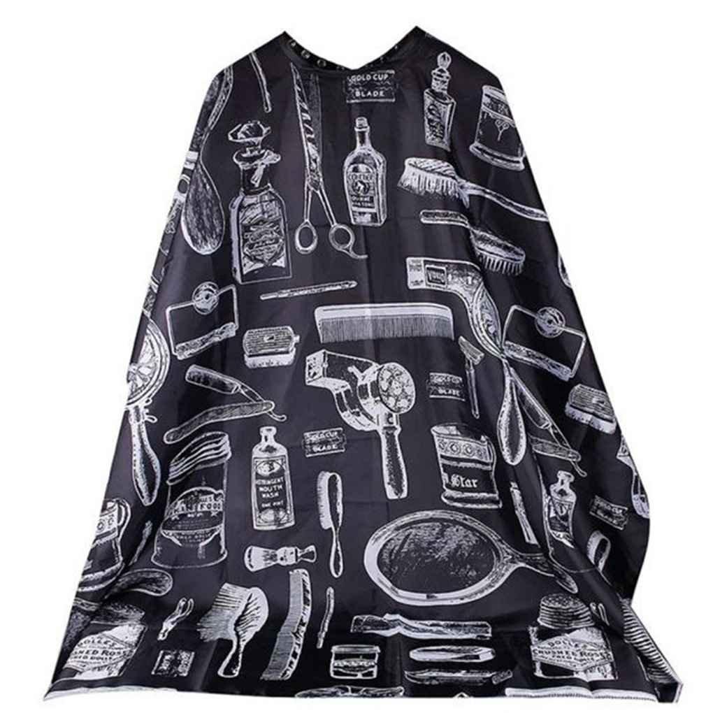 Demino Coiffure Cap Cover Couper Salon Cheveux Accueil Utilisation Tissu Cheveux imperm/éable Salon Barber Robe Cape Coiffeur pour