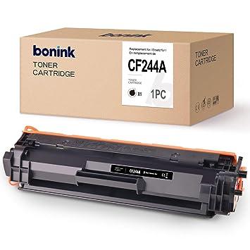 BONINK Tóner Compatibel HP CF244A 44A Negro Tóner (con Chip ...