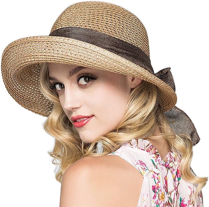 Victorian Hat History | Bonnets, Hats, Caps 1830-1890s Kekolin Womens Straw Hat Floppy Foldable Roll up Beach Cap Sun Hat $15.70 AT vintagedancer.com