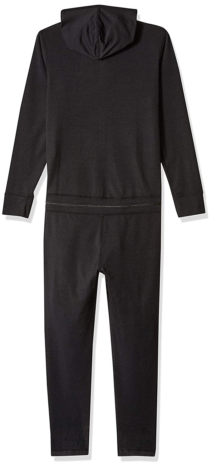 AIRBLASTER Youth Hooded Outdoor Base Layer Ninja Suit, Black, X-Small