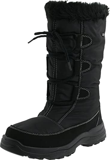 Spring Step Women's Zurich Snow Boot, Black, 36 EU/5.5-6 M