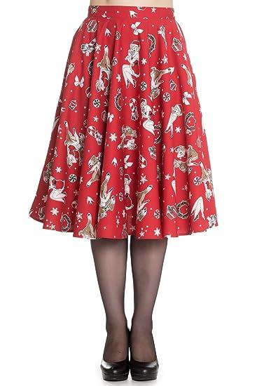 Falda Rockabilly Navideña de los 50s
