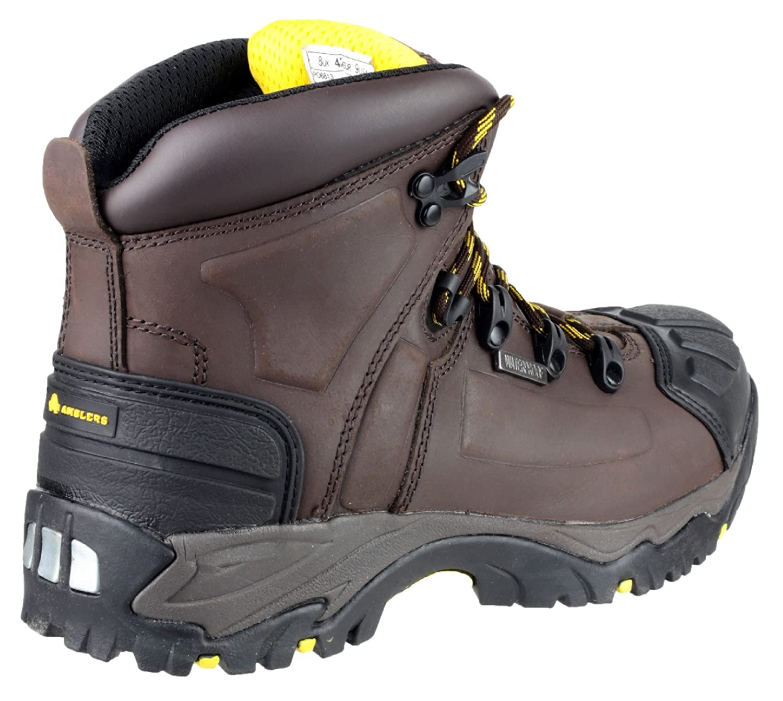 Amblers Safety Calzado de protecci/ón de cuero para hombre marr/ón marr/ón