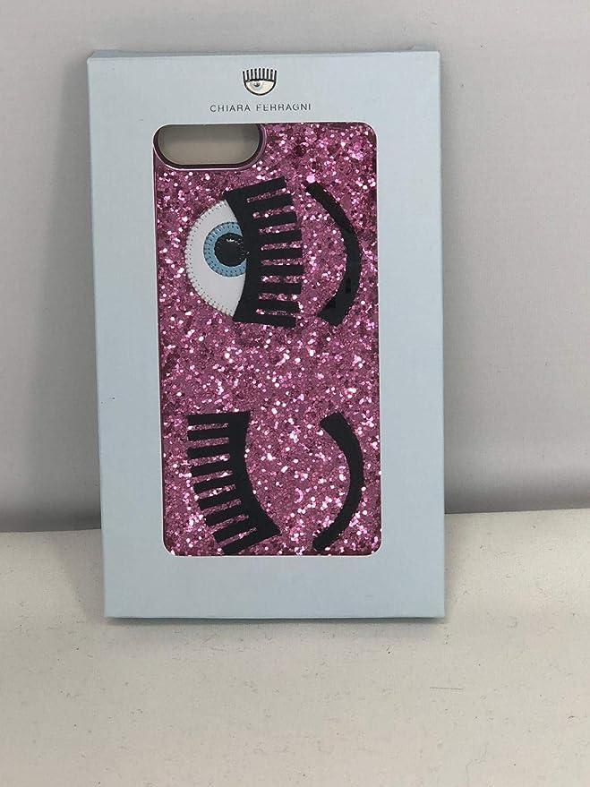 cover chiara ferragni iphone s6/s7 plus morbida pink: Amazon.it ...