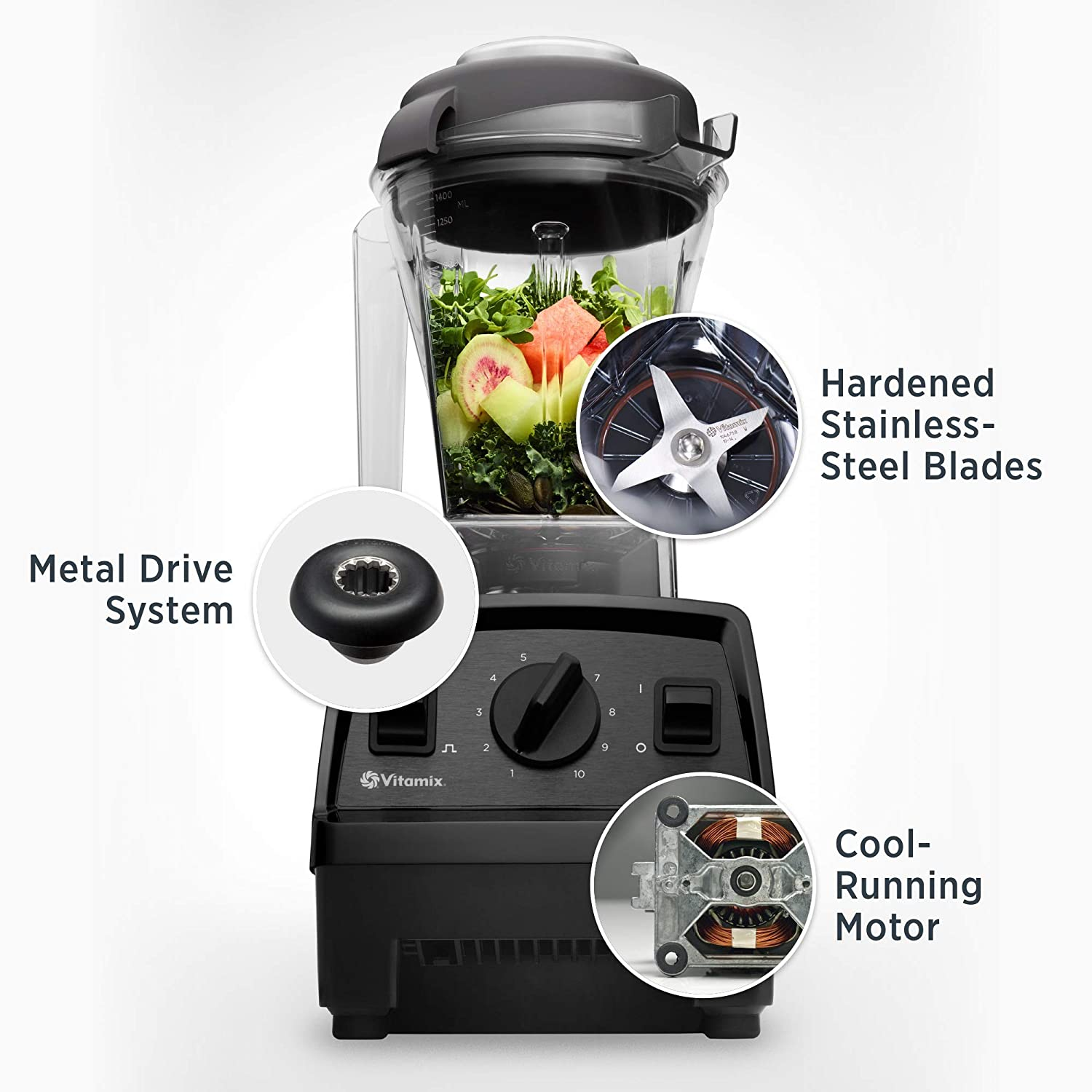 Pros of Vitamix E310 Explorian