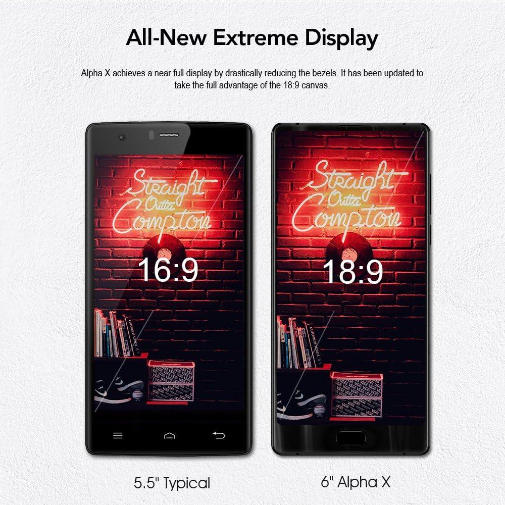MAZE Alpha X -Smartphone 6.0 Pulgadas 5 Pantalla Completa Android ...