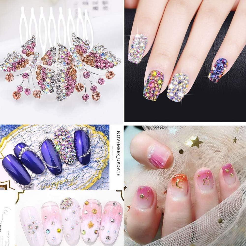 1440 unidades de cristales de uñas AB y cristales de uñas de ...
