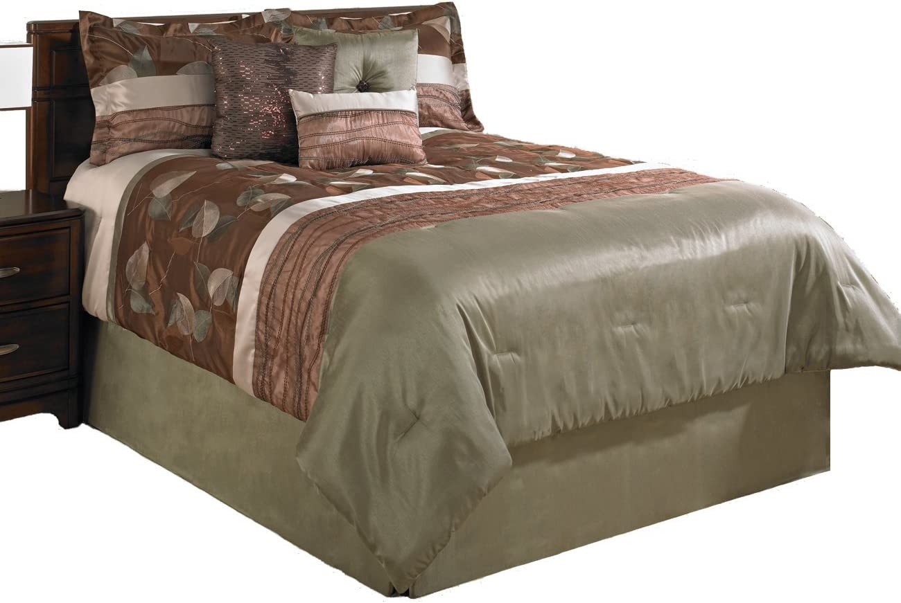 ! Super beauty product restock quality top! Beco Home Fall Leaves 7-Piece Set Comforter King Luxury Very popular