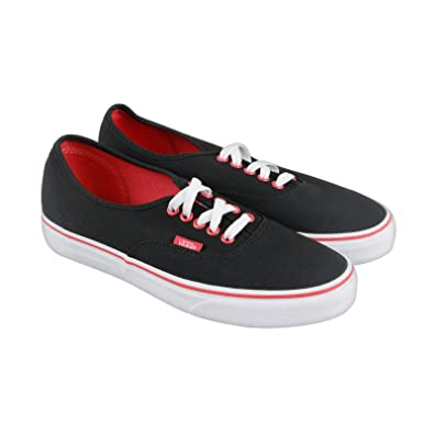 vans authentic black true white