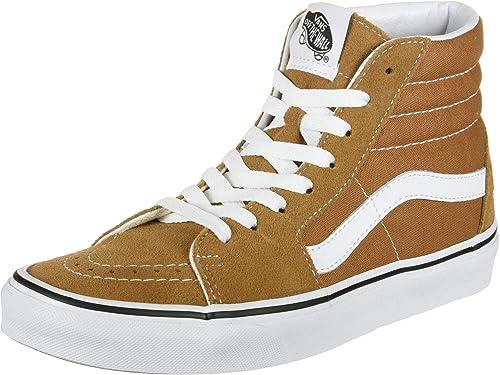 Vans Sk8 Hi Schuhe CuminTrue White: : Schuhe