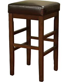 american heritage billiards empire extra tall height stool brown